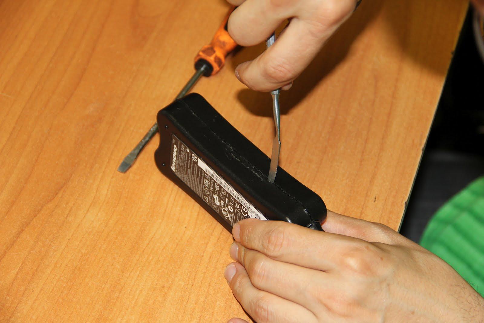Как отремонтировать зарядку для ноутбука своими руками